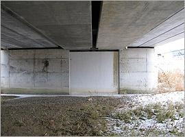 兵村地区 鉄道橋使用拡幅耐震補強