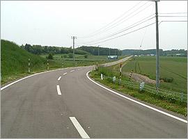 女満別地区 道路設計